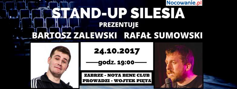 Stand-up Silesia: Bartosz Zalewski i Rafał Sumowski w Zabrzu
