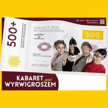 Kabaret pod Wyrwigroszem w programie 500+ w Sandomierzu