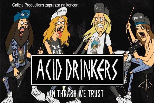 Koncert: Acid Drinkers w Krakowie