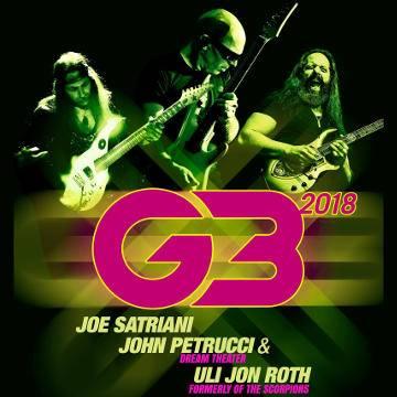 Koncert: Joe Satriani John Petrucci & Uli Jon Roth w Warszawie
