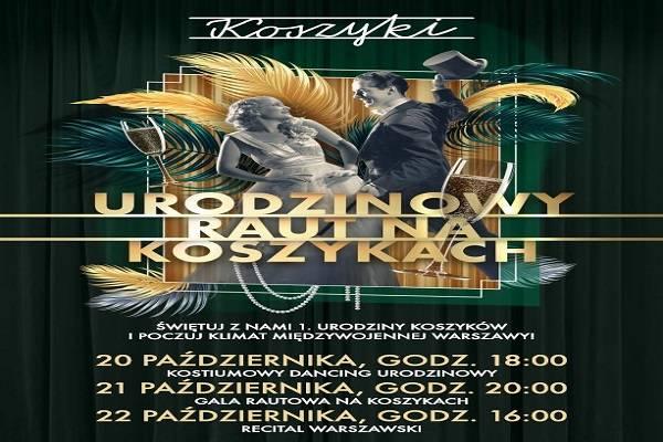 URODZINOWY RAUT NA KOSZYKACH - Warszawa: dzień I