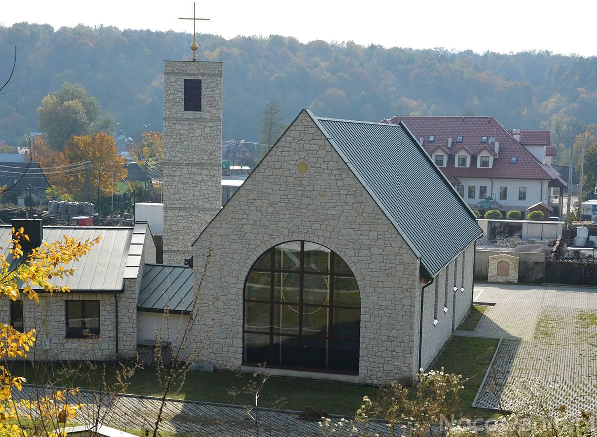 Uroczystość poświęcenia kaplicy w Bochotnicy