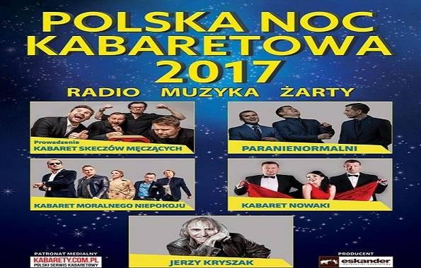 Polska Noc Kabaretowa 2017 w Hali Arena w Poznaniu