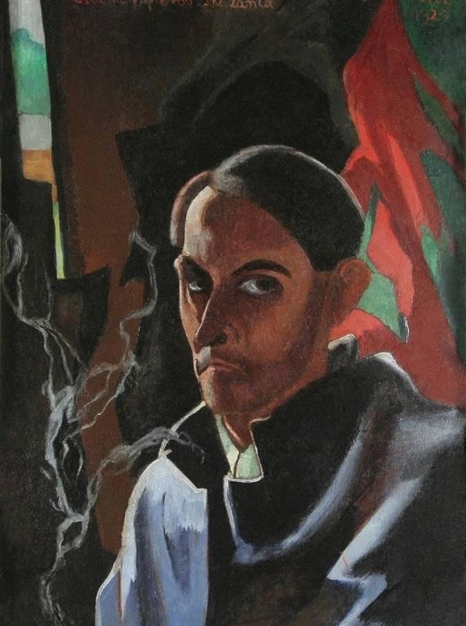 Portret w manierze witkacowskiej