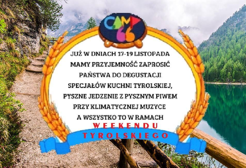 Weekend Tyrolski w Ściegnach