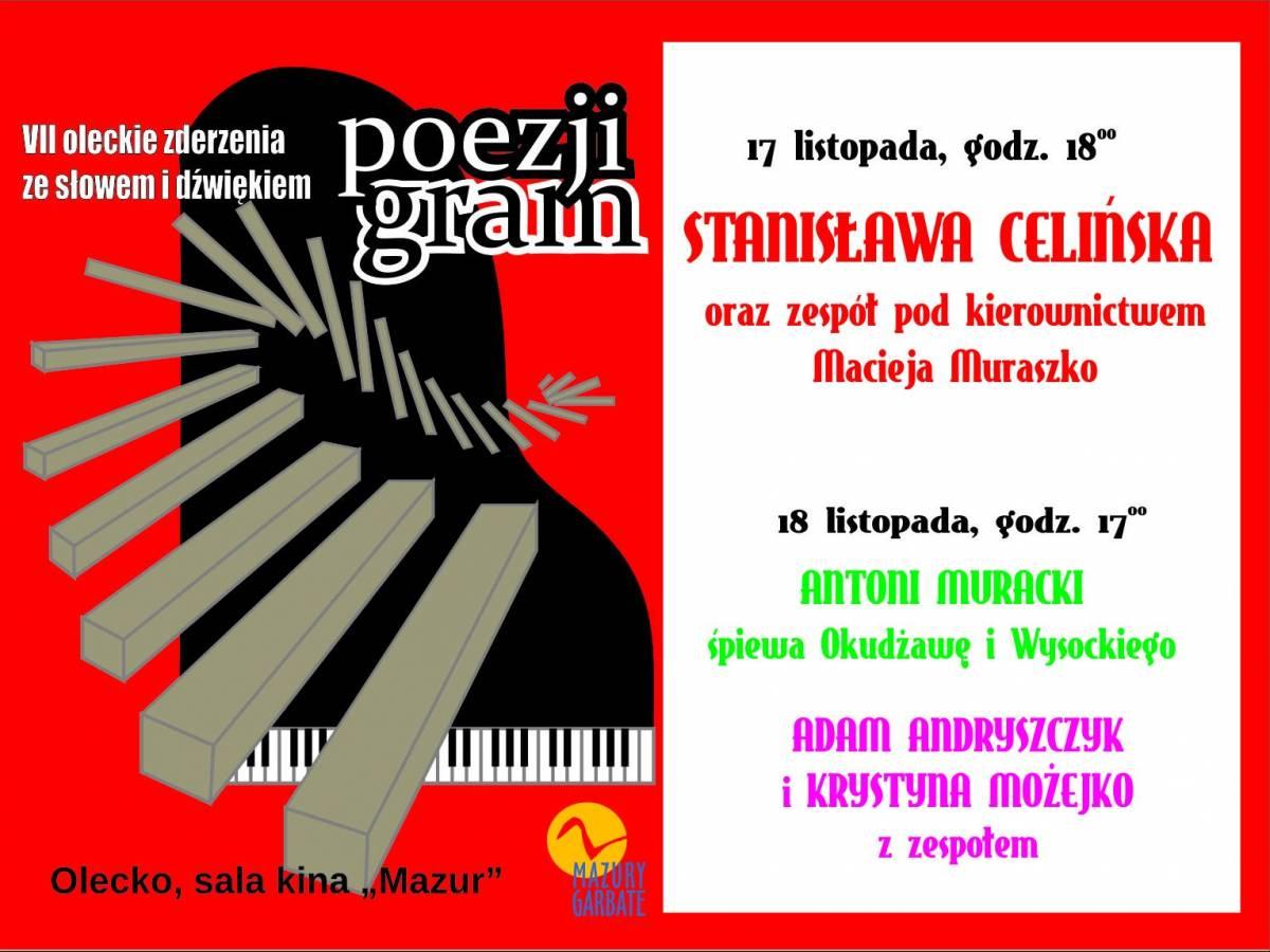 Festiwal Oleckie Zderzenia ze Słowem i Dźwiękiem POEZJI GRAM 2017