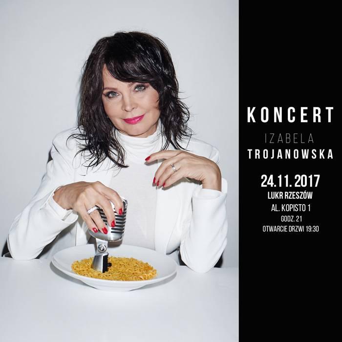 Koncert: Izabela Trojanowska w Rzeszowie