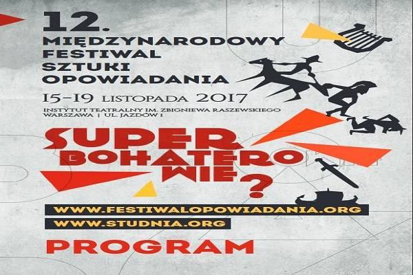 12. Międzynarodowy Festiwal Opowiadania w Warszawie