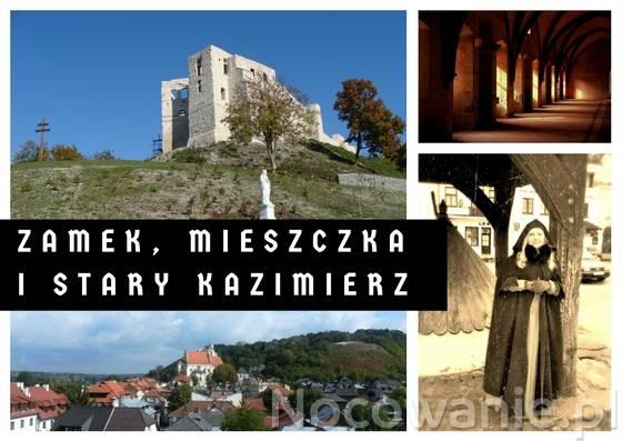 Wycieczka Zamek, mieszczka i stary Kazimierz