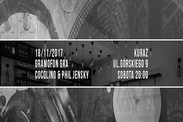 Gramofon Gra: Cocolino i Phil Jensky w Warszawie