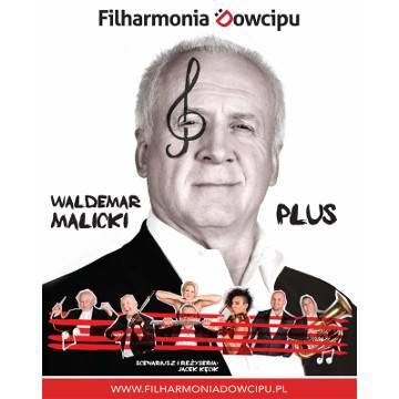 Filharmonia Dowcipu i Waldemar Malicki w Szczecinie