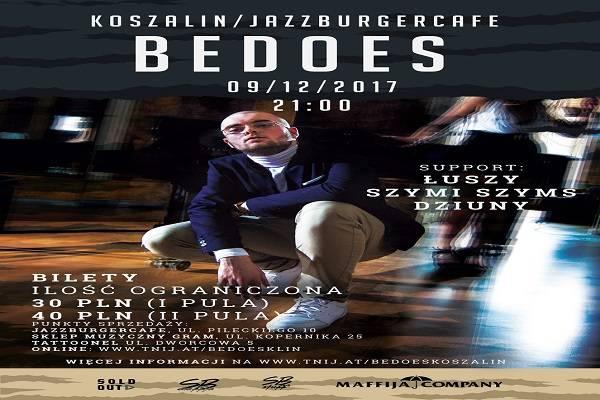 Grudniowy koncert Bedoesa w Koszalinie