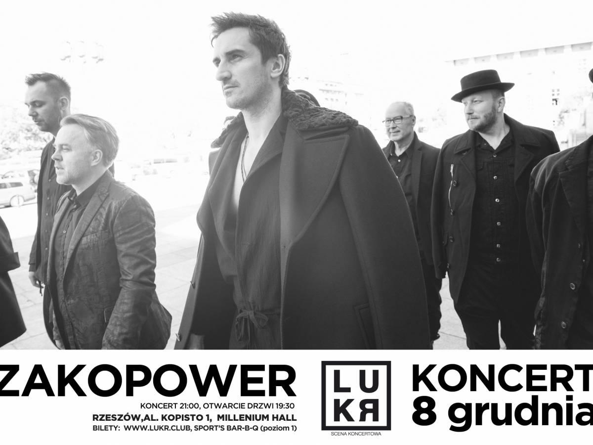 Koncert: Zakopower w Rzeszowie
