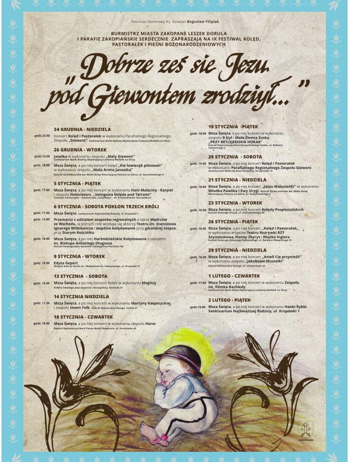 Festiwal Kolęd, Pastorałek i Pieśni Bożonarodzeniowych w Zakopanem