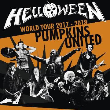Koncert: HELLOWEEN Pumpkins United w Warszawie