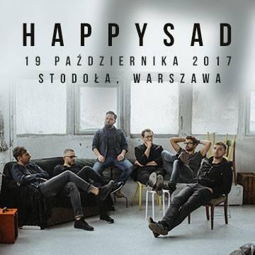 Koncert: Happysad w Warszawie
