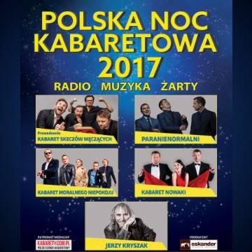 Polska Noc Kabaretowa 2017 w Warszawie