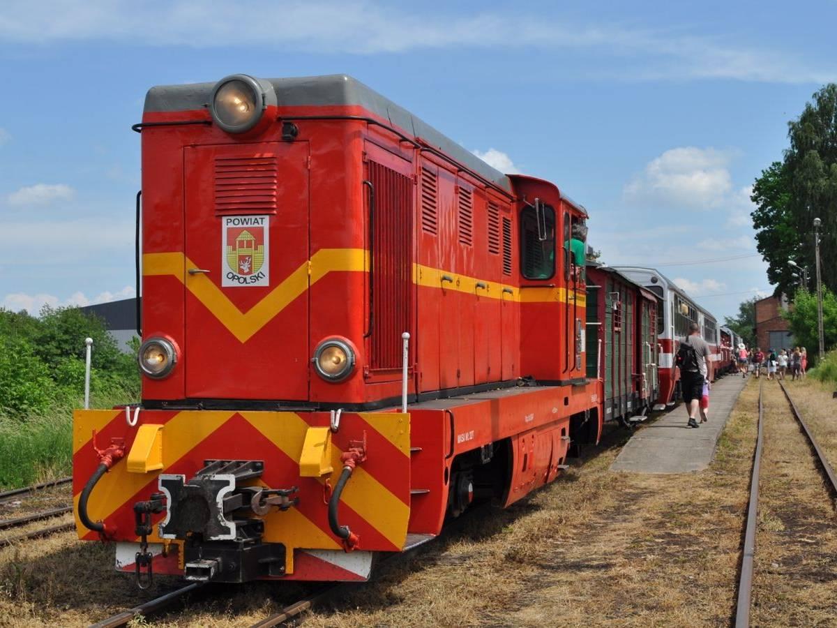 Wycieczka Nadwiślańską Koleją Wąskotorową