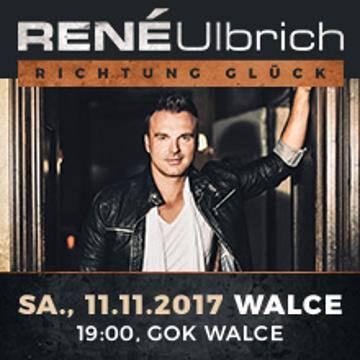 Koncert: Rene Ulbrich w Walcach