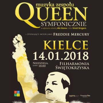 Koncert: Muzyka zespołu Queen symfonicznie w Kielcach