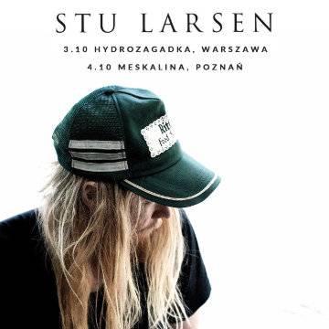 Koncert: Stu Larsen w Poznaniu