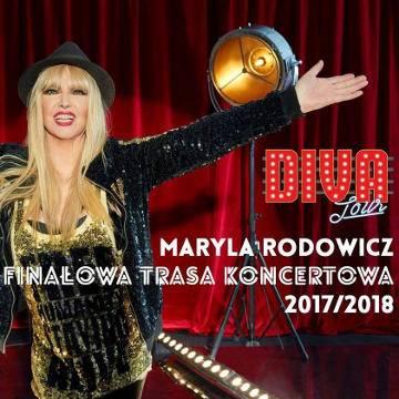 Koncert: Maryla Rodowicz Diva Tour 2017/2018 w Koszalinie