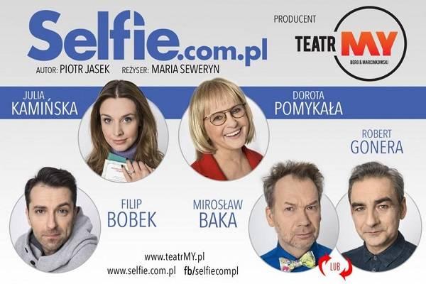 Spektakl pt. Selfie.com.pl w Szczecinie