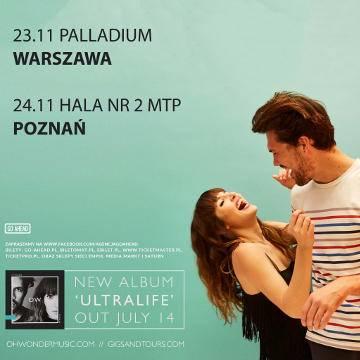 Koncert: Oh Wonder w Poznaniu
