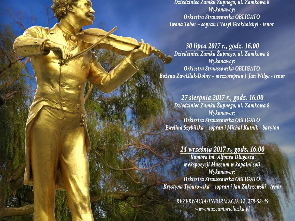 IV koncert Popołudnie ze Straussem 2017 w Wieliczce
