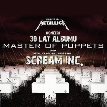 Tribute to Metallica show! - Scream INC w Krakowie