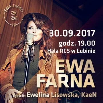 Koncert: Ewa Farna w Lubinie