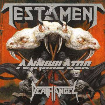 Koncert: Testament + Annihilator, Death Angel we Wrocławiu