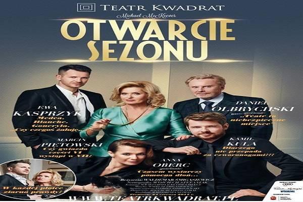 Otwarcie sezonu: spektakl w Gdyni