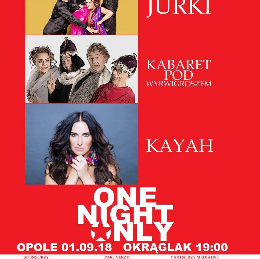 One Night Only 2018 w Opolu