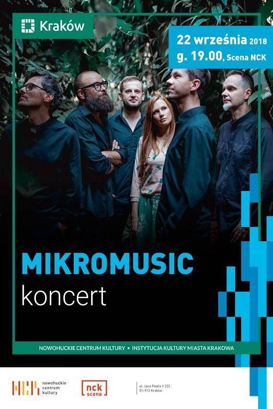 Koncert Mikromusic w Nowohuckim Centrum Kultury