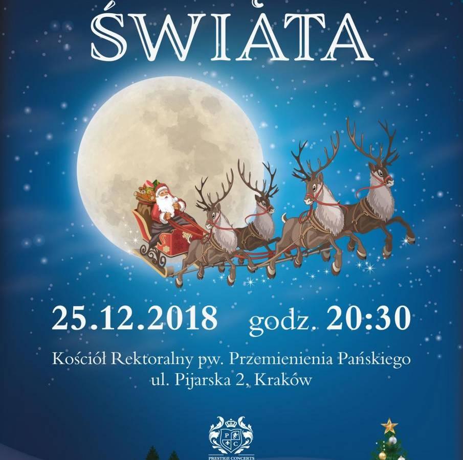 """Koncert kolęd """"Kolędy świata"""" w Krakowie"""