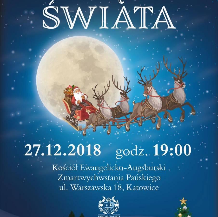 """Koncert kolęd """"Kolędy świata"""" w Katowicach"""
