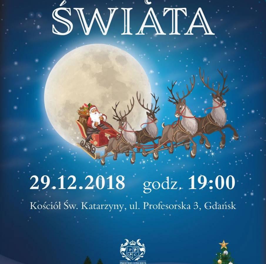 """Koncert kolęd """"Kolędy świata"""" w Gdańsku"""