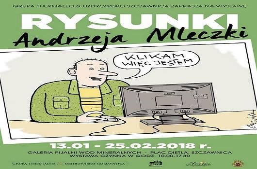 Rysunki Andrzeja Mleczki w Szczawnicy