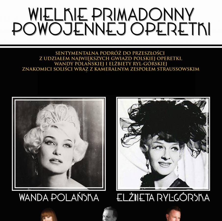 Koncert w Gliwicach: Wielkie Primadonny Podwojennej Operetki
