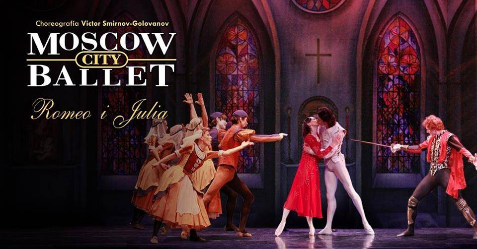 Spektakl Moscow City Ballet w Toruniu
