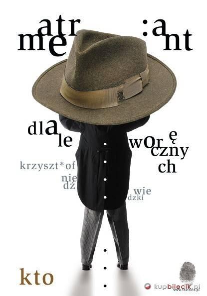 """Spektakl """"Atrament dla leworęcznych"""" w Teatrze Zależnym w Krakowie"""