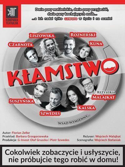 """Spektakl """"Kłamstwo"""" w Pałacu Kultury Zagłębia w Dąbrowie Górniczej"""