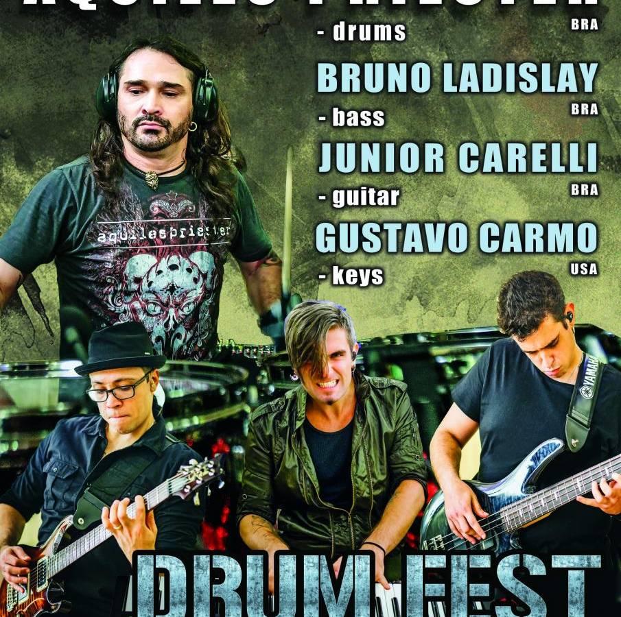 XXVII Międzynarodowy Festiwal DRUM FEST w Gliwicach: Aquiles Priester Band