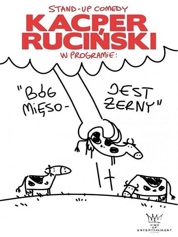 Kacper Ruciński w Teatrze Muzycznym w Łodzi: Bóg jest mięsożerny