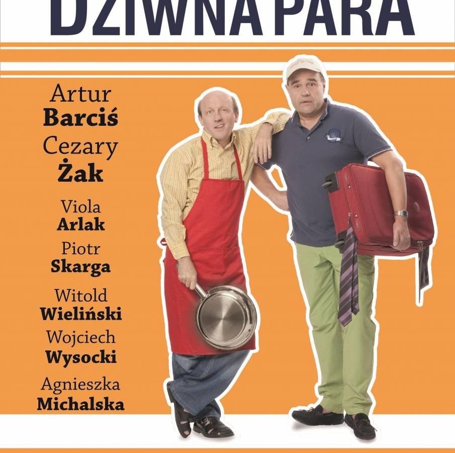 """Spektakl """"Dziwna para"""" w Bałtyckim Teatrze Dramatycznym w Koszalinie"""
