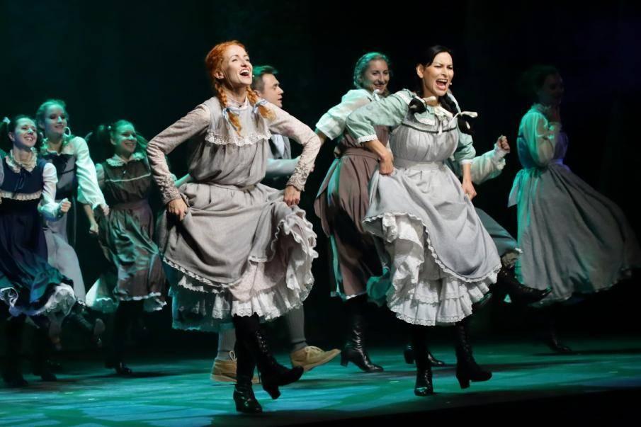 """Musical """"Ania z Zielonego Wzgórza"""" w Teatrze Muzycznym w Lublinie"""
