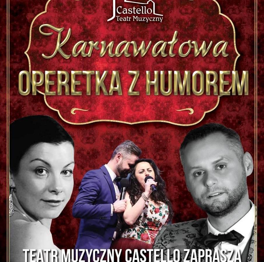 Karnawałowa Operetka z Humorem w Dolnobrzeskim Ośrodku Kultury