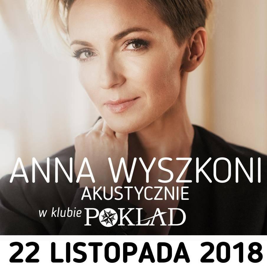 Koncert Anna Wyszkoni Akustycznie w Klubie Pokład w Gdyni