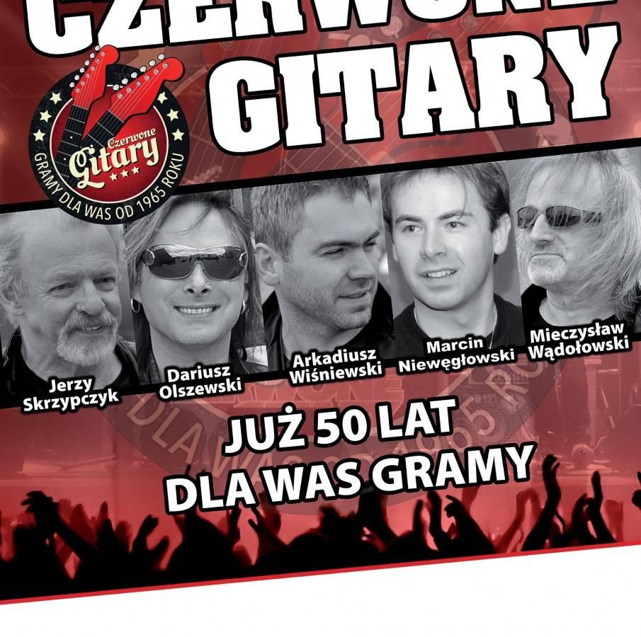 Koncert Czerwonych Gitar w Teatrze Dramatycznym w Płocku